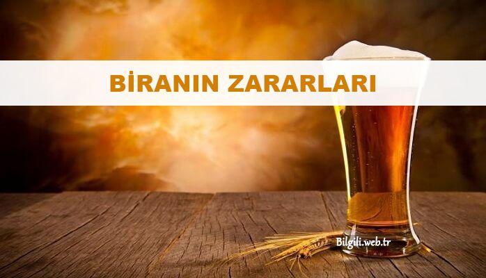 biranın zararları