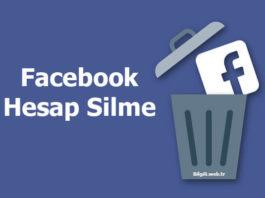 facebook hesap silme linki